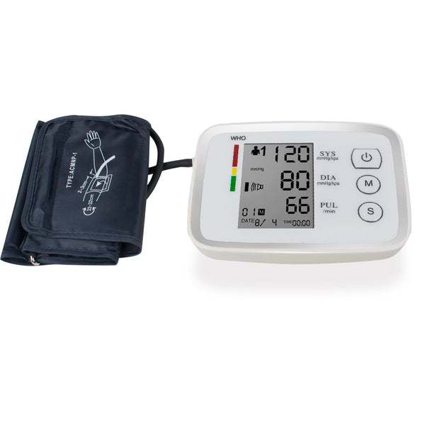 Automatic Upper Arm Digital Blood Pressure and Pulse Monitor