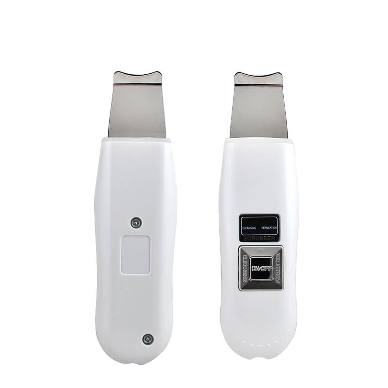 Portable Facial Ultrasonic Ultrasound Ion Skin Scrubber Care Device Beauty Machine