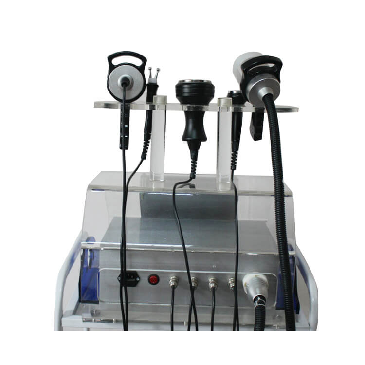 5in1 Ultrasonic Weight Loss Cavitation Vacuum Multipolar Microcurrent RF Beauty Machine Freeshipping