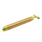 Face Lifting Slimming Shaping Skin Tightening Vibration Gold Energy Beauty Bar Roller Stick Facial Massager Machine