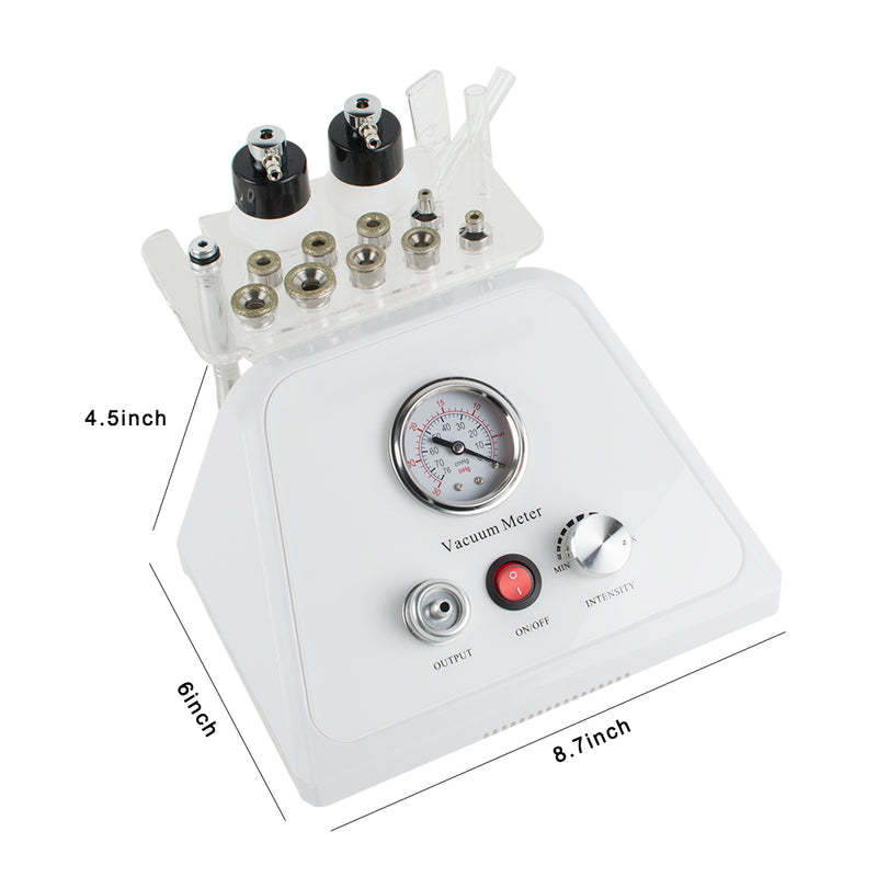 3 In 1 Diamond Dermabrasion Vacuum Microdermabrasion Skin Care Machine