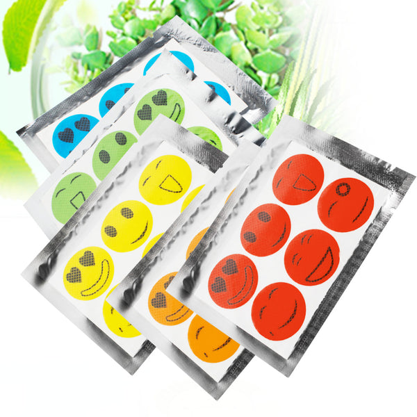 Trendy Mosquito Repellent Insect Bug Repel Stickers Pure Citronella Oil