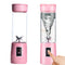 Glass Juice Cup Juice Cup Rechargeable Household Small Portable Mini Fruit Juicer