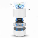 Pest Control Electric anti Mosquito Killer Lamp LED catcher Bug repellent Zapper Light