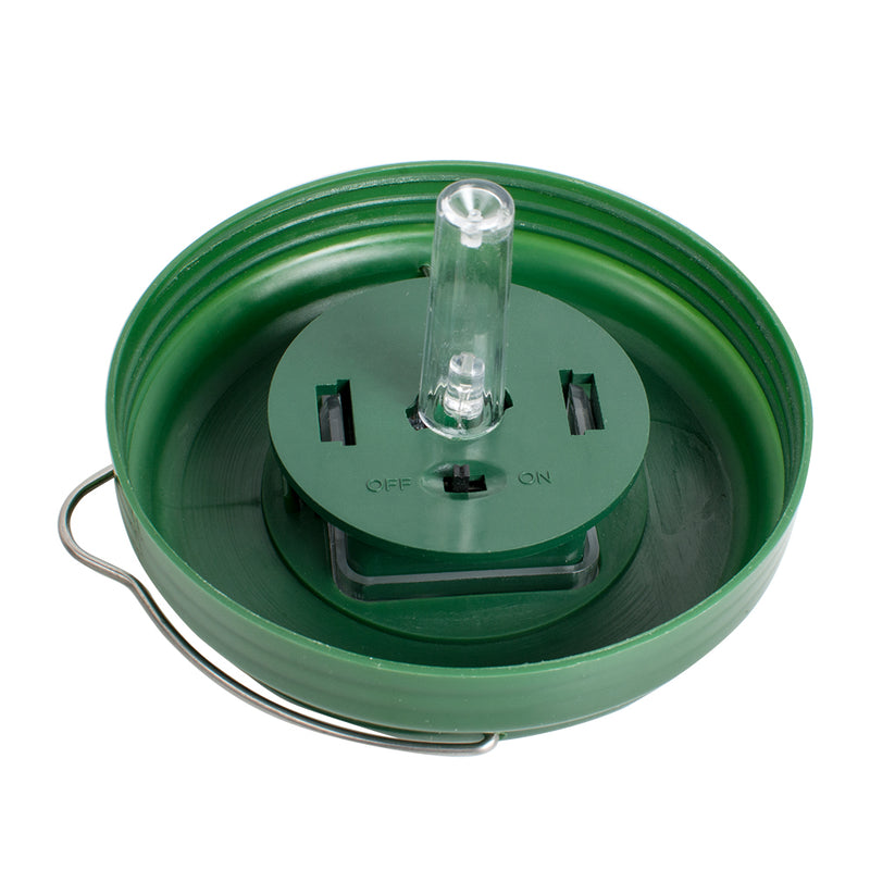 Outdoor Flying Suspension LED Plastic Trap Catcher Solar Powered  Non-toxic Insect Control Tool