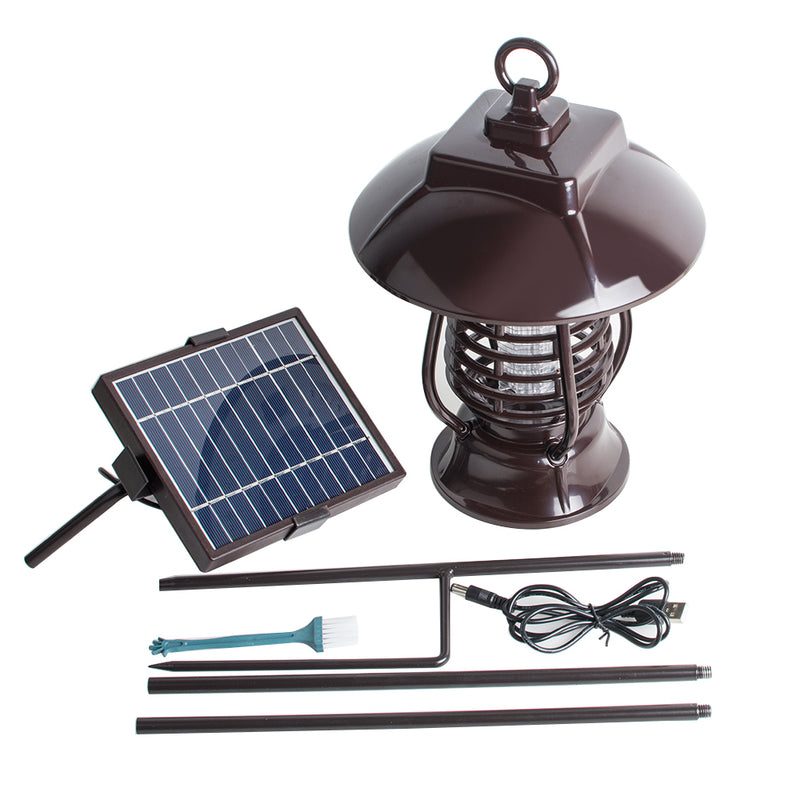 Solar Energy Mosquito Killer Light Insect Killing Lamp For Gardens Outdoor Places Pest Reject