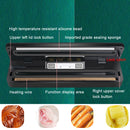 Mini automatic food heating sealer vacuum packing machine