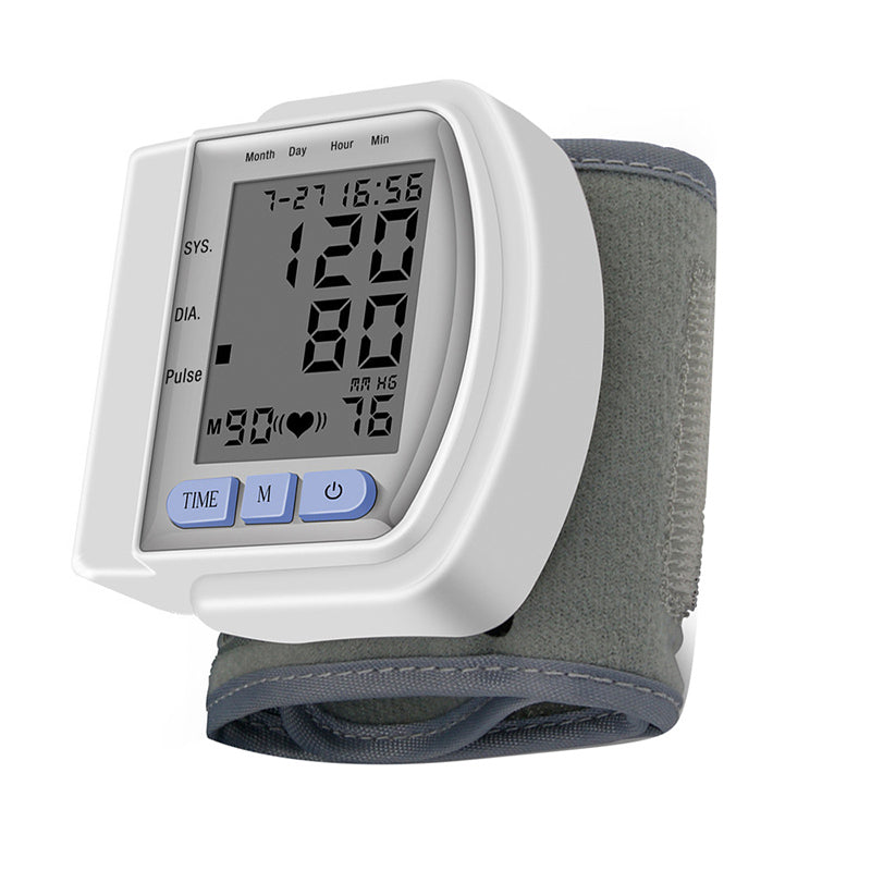 portable monitor Household Type wrist Blood Pressure Monitor