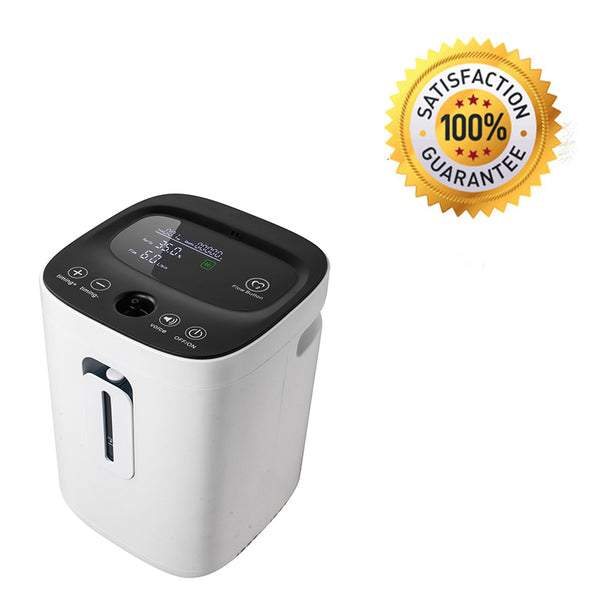 110V Touch Screen Adjustable Oxygen Concentrator With Nebulizer Function