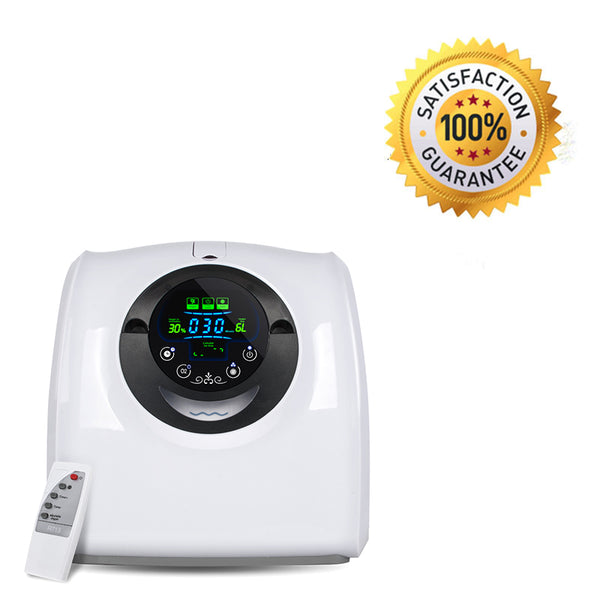 110V Portable Oxygen Generator Air Purifier Machine