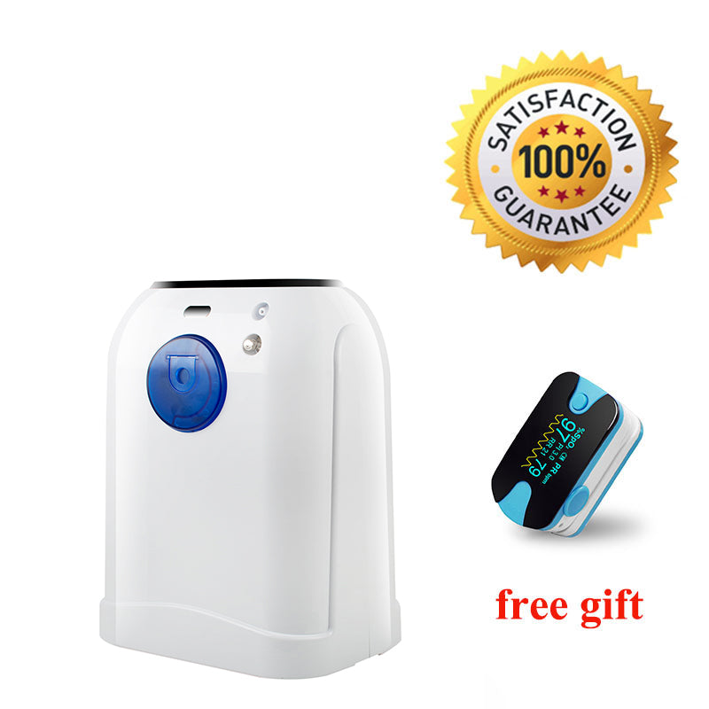110V Adjustable Portable 1-7L/Min Oxygen Generator Concentrator With Intelligent Voice
