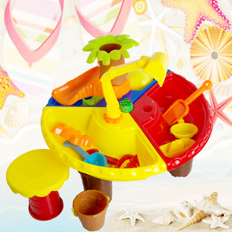 Beach Play Table Sand Table Toy for Children