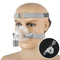 Nasal Mask With Adjustable Headgear Strap Clip For Sleep Apnea Anti Snoring