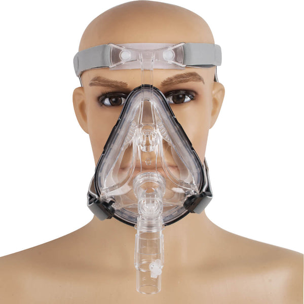 Full Face CPAP Mask Auto CPAP BiPAP for Sleep Apnea Snoring
