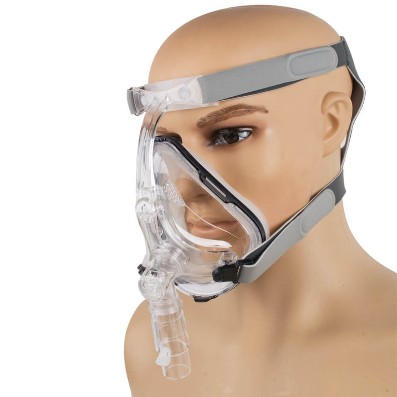 Full Face Mask CPAP Auto CPAP BiPAP Mask for Sleep Apnea Snoring