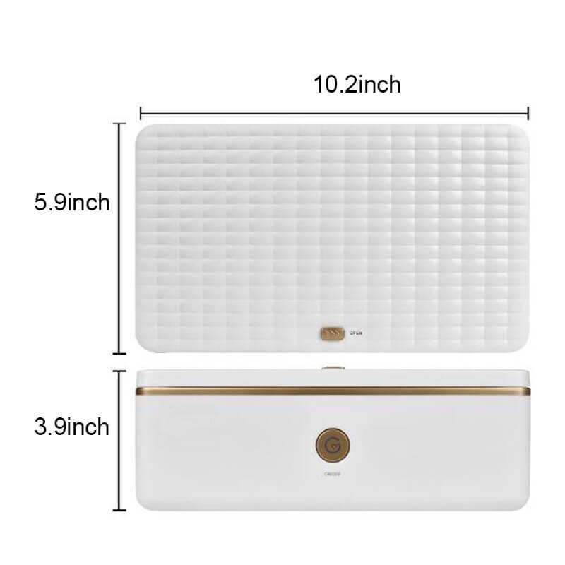 Disinfection Box Ozone Double Disinfection Box With USB Interface Personal Cleaning Device