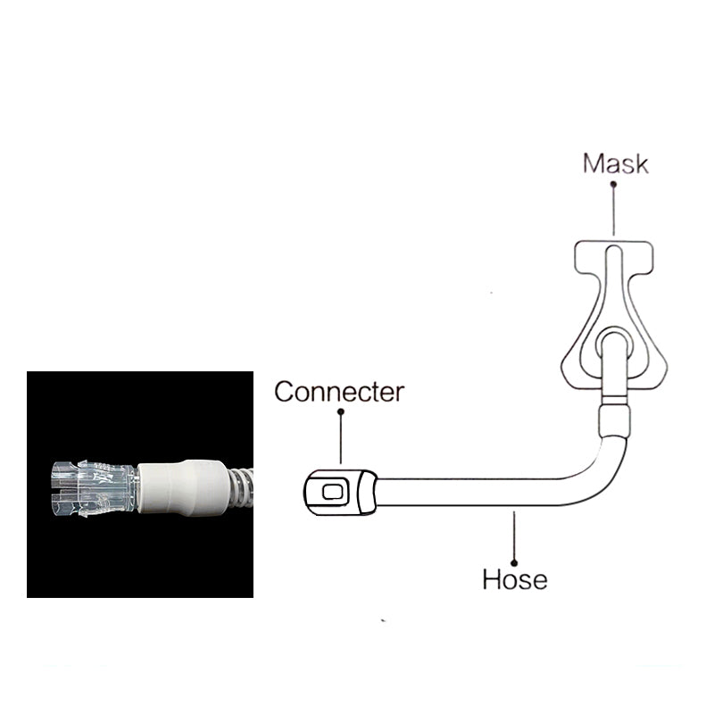 High Quality Hose Connector CPAP Adapter for Nasal Masks