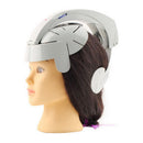 Electric Head Massager Brain Massage Relax Acupuncture Points Gray