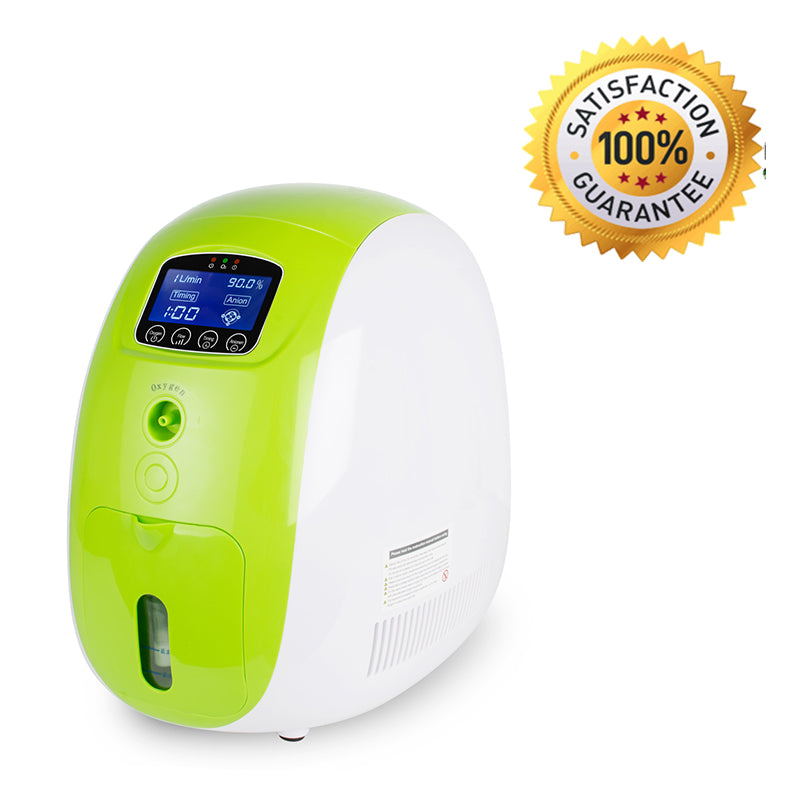 1L Portable Full Intelligent Home Oxygen Concentrator Generator work compact Silent