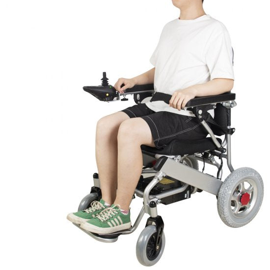 Fold Electric Wheelchair Power Wheel chair Lightweight Mobility