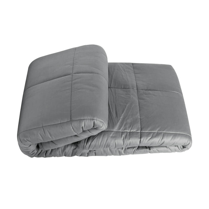60*80in/15lb Weighted Heavy Blanket Adult 15 lbs Gravity Throws Faster Fall Asleep Better
