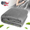 60*80in/20lb Weighted Heavy Blanket Adult 15 lbs Gravity Throws Faster Fall Asleep Better