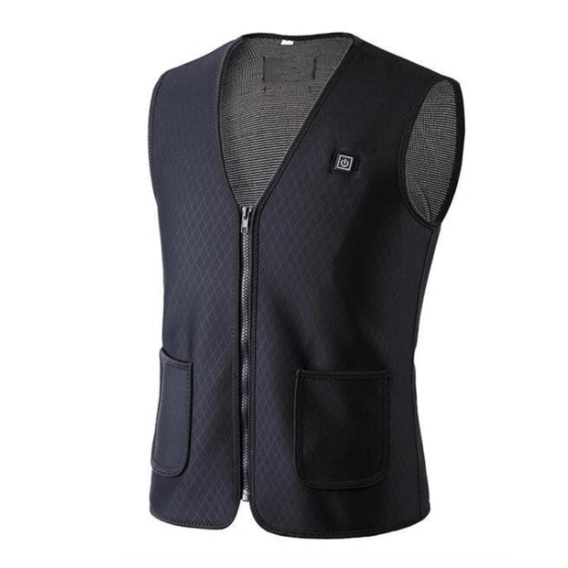 USB Electric Heated Vest Jacket Washable for Outdoor Activity