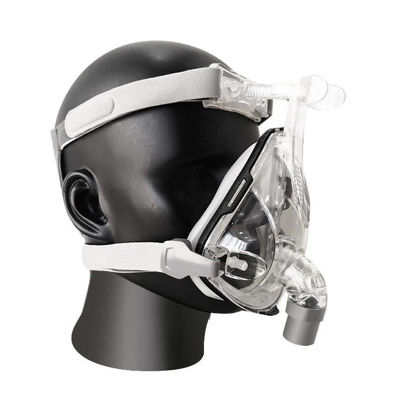 Full Face Mask With Adjustable Headgear