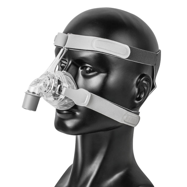 Nasal CPAP Mask With Adjustable Headgear