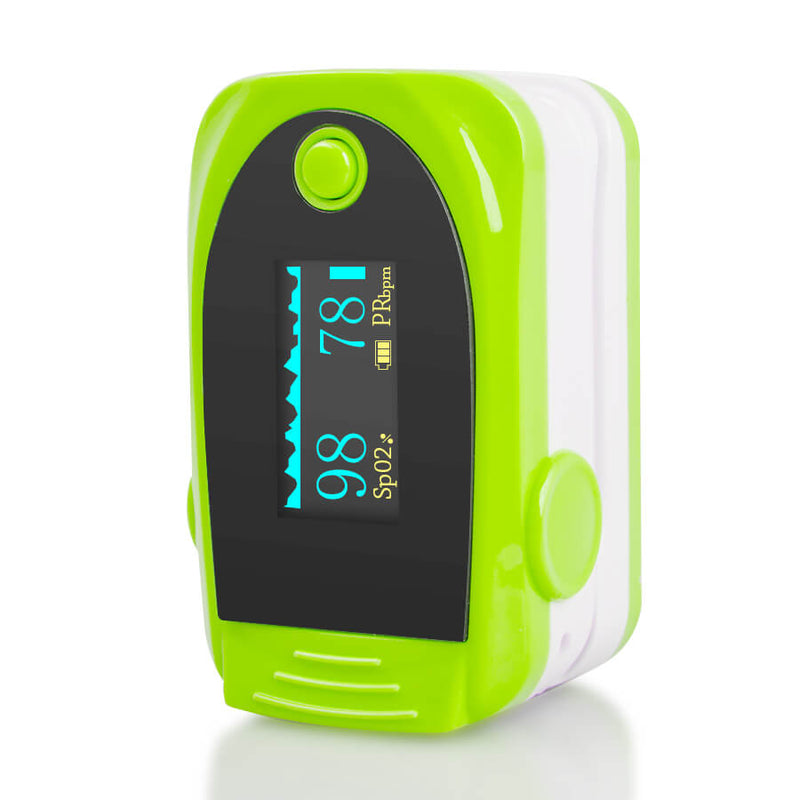OLED Fingertip Pulse Oximeter With Audio Alarm & Pulse Sound