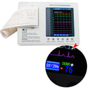 7-inch Color LCD Digital 3-channel 12-lead Electrocardiograph