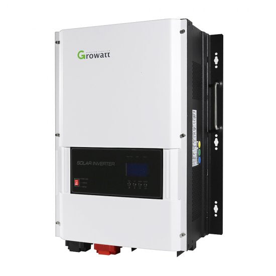 Growatt 48V 6kW 120/240V Split Phase Solar Inverter Built-in 80A MPPT Solar Charge Controller