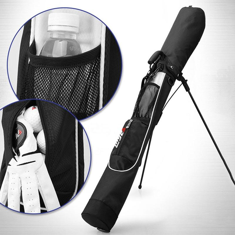 PGM Portable Golf Bag Light and Large Capacity Waterproof Golf Bag for glof ball,markers,sticks etc120 * 12 * 15cm