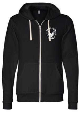 Condor Logo Print Hooded Sweatshirt