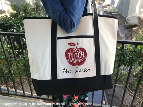 Custom Printed Canvas Tote Bags by BodrumCrafts