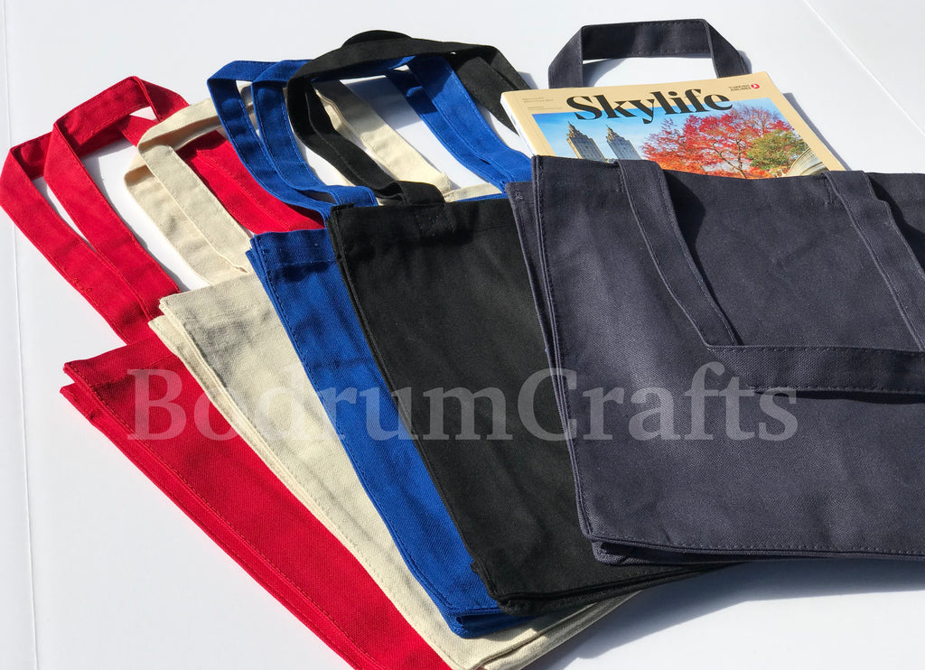 BodrumCrafts Wholesale Heavy Canvas Tote Bags in Bulk