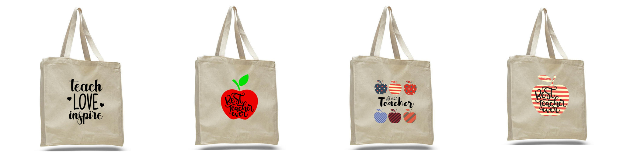 Wholesale custom personalized canvas cotton tote bags in bulk