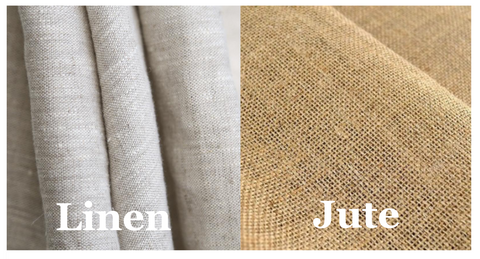 Q. What is the difference between linen fabric and jute fabric?