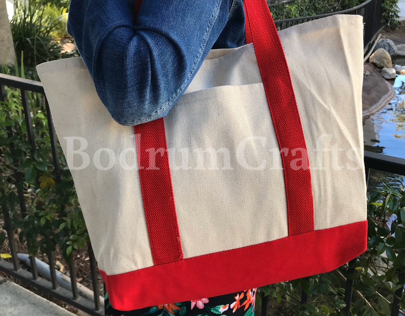Reusable shopping grocery canvas tote bags wholesale