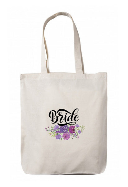 Personalized Wedding Canvas Gift Bags, Party Favors Gifts, WB65