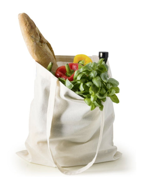 Eco-Friendly Grocery Shopping Tote Bags, Long Handle