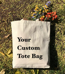 Design Your Own Canvas Tote Bags, Custom Personalized Totes in Bulk PCB05