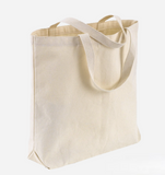 Set of 12, Economy Heavy Duty Canvas Tote Bags