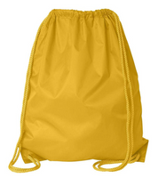 ( 12 Value Pack ) Economy Polyester Sports Drawstring Backpack, Large Size