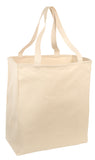 Long Handle Canvas Twill Shopper Tote Bag TB06
