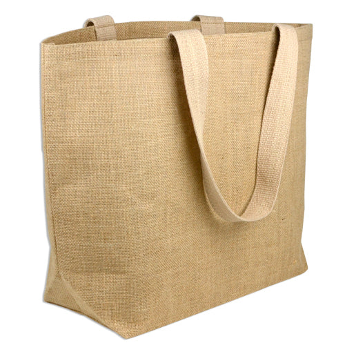 Wholesale Large Burlap Jute Tote Bags, Everyday Shopping, Beach, Travel Totes BLBCH