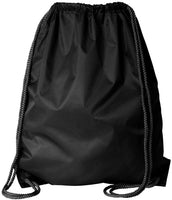 wholesale Economy Polyester Sports Drawstring Backpack, Medium Size