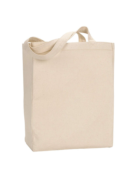 Medium Size Canvas Book Tote Bags, Wholesale