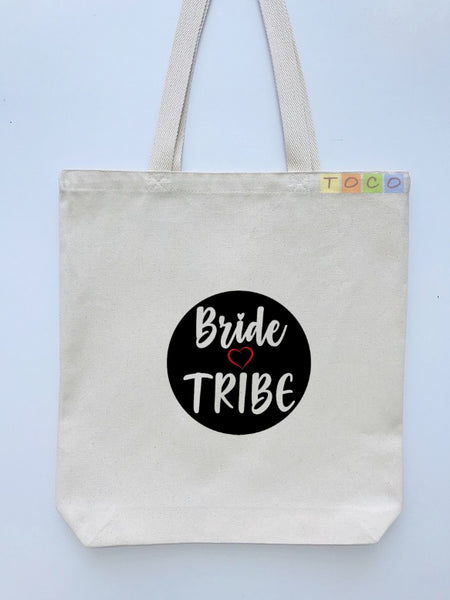 Bride Tribe Canvas Tote Bags BB15
