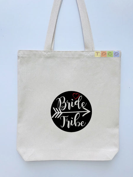 Bride Tribe Canvas Tote Bags BB18